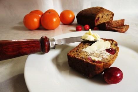 Cranberry Orange Banana Bread
