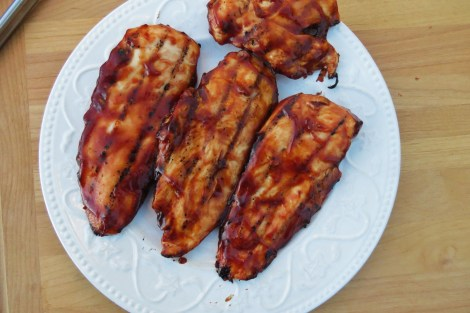 Bourbon BBQ Chicken