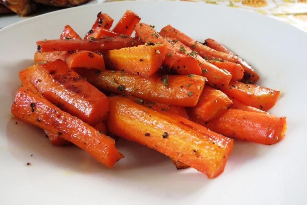 honey glazed carrots 037