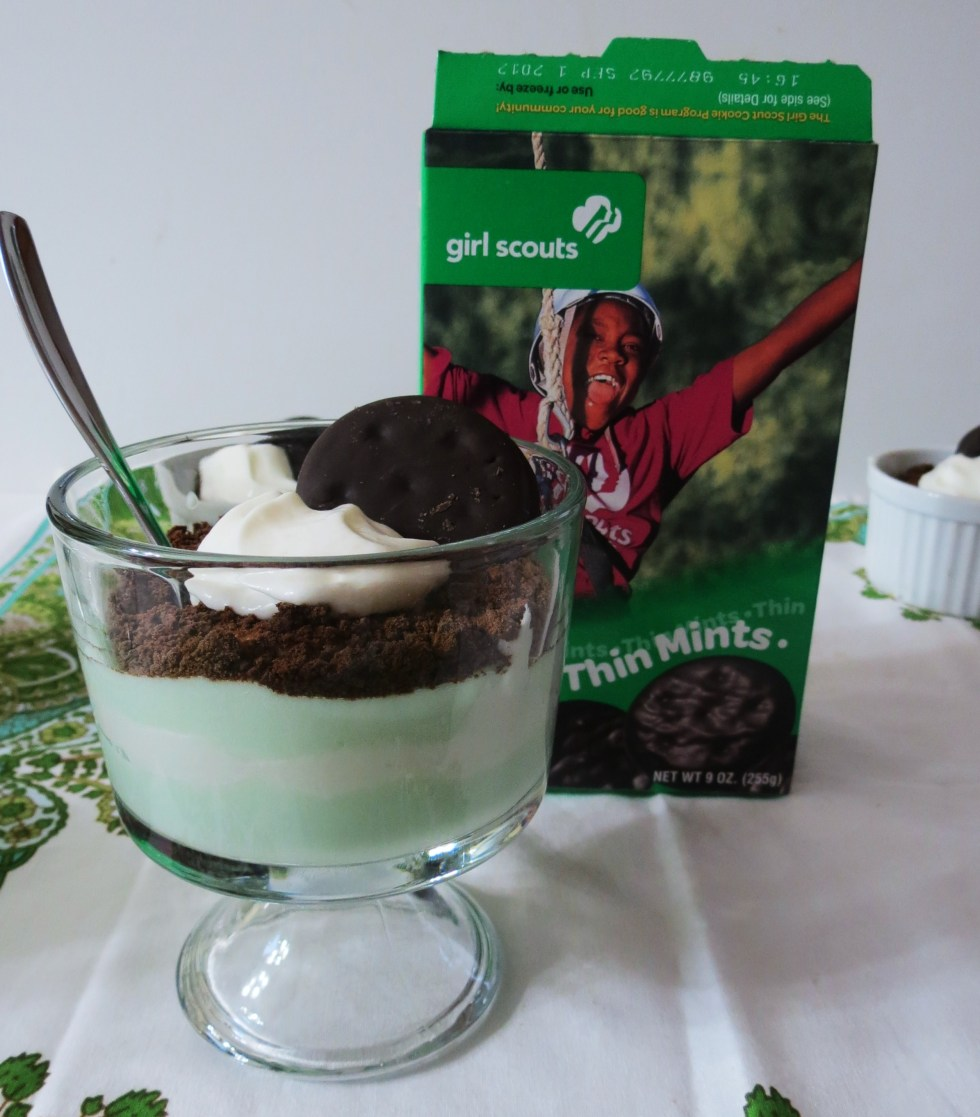 Thin Mint Mousse