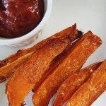 Sugar Free Jalapeno Ketchup & Crispy Sweet Potato Fries