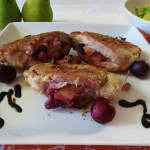 Pear and Cherry Stuffed Pork Loin