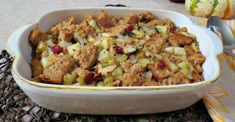 apple walnut sage stuffing