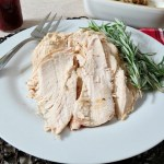 Lemon Rosemary Balsamic Roasted Chicken / Turkey Cooking Guidelines