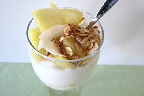 Pina Colada Yogurt Topping