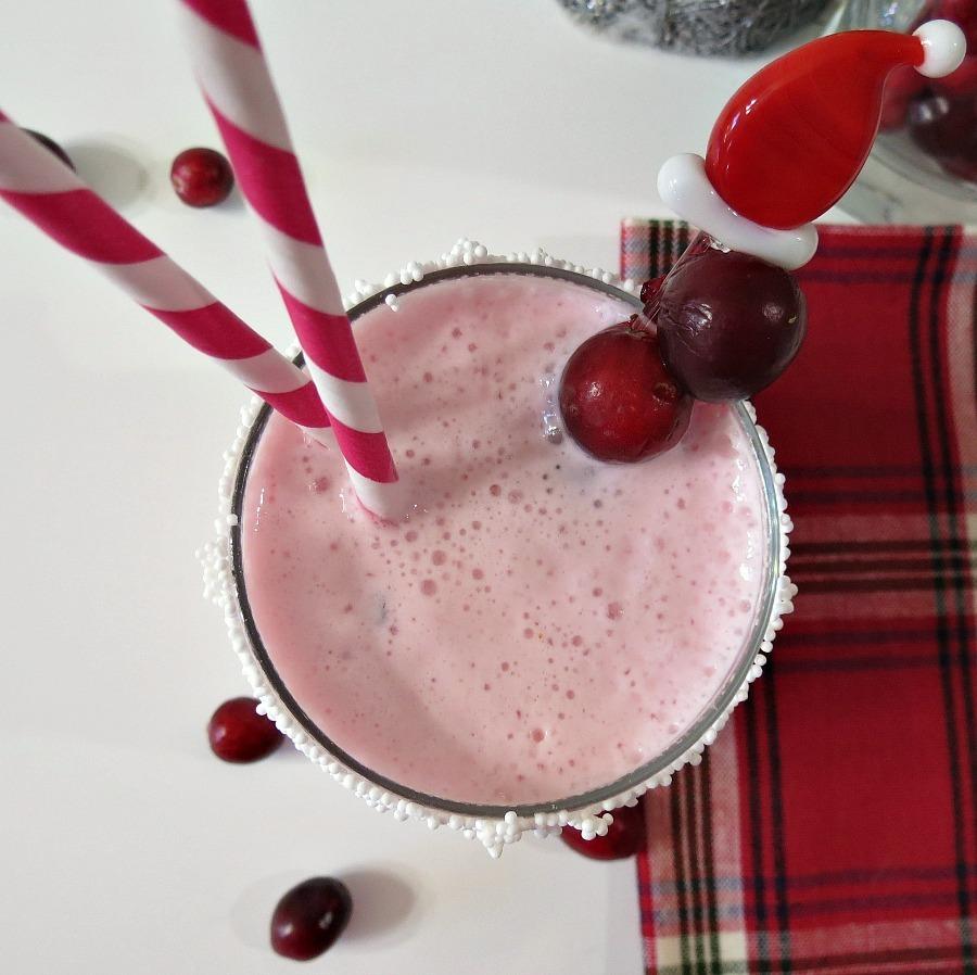 Christmas Cranberry Smoothie