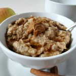 Apple and Cinnamon Steelcut Oats (Crockpot) / Weekly Recap