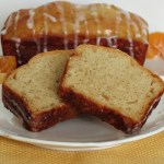 Vanilla Bean Orange Loaf Bread and Weekly Recap