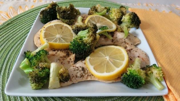 Lemon and Broccoli Chicken