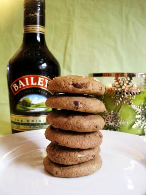 Baileys Chocolate Mint Cookies