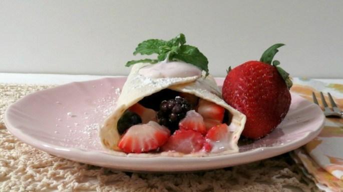 Berry Breakfast Taco's