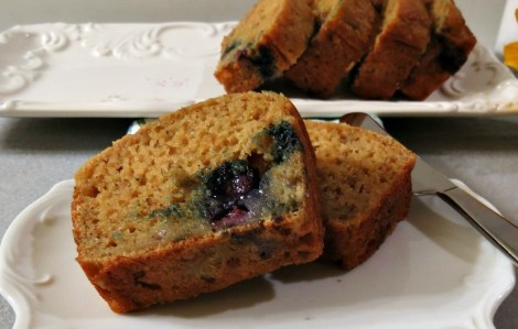 BlueberryBanana Lemon Bread