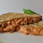 Buffalo Chicken Panini Sandwich