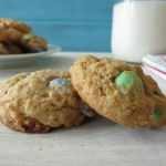 Coconut and M&M's Cookies #SundaySupper