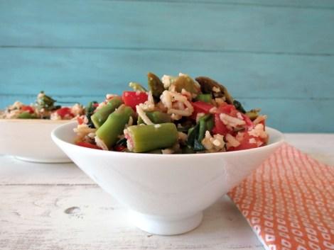 Asparagus and Basmati Rice Salad