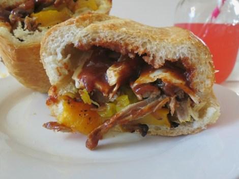Grilled Tr Tip Steak Sandwich