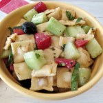 Mediterranean Pasta Salad #SundaySupper