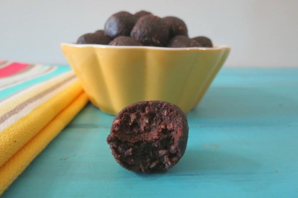 Fudgy Chocolate Banana Truffle