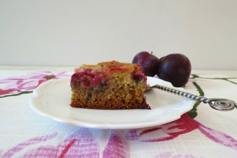 Plum Snack Cake