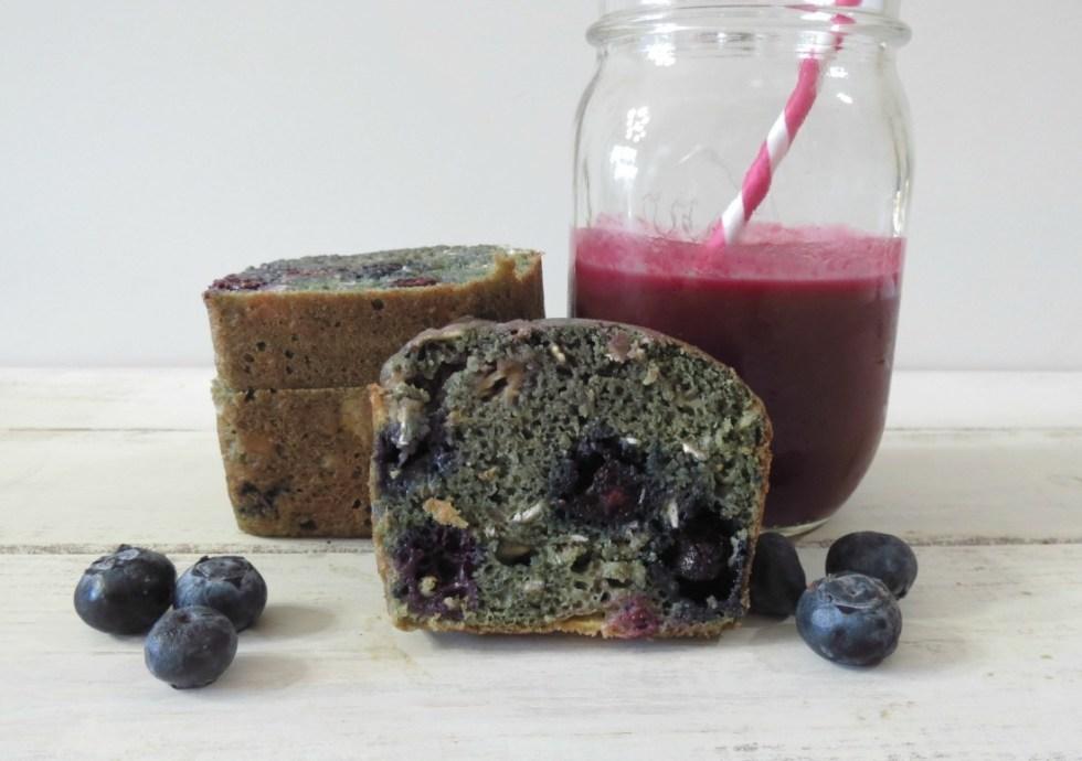 Power Garden Berry Quick Bread