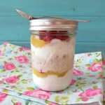 Raspberry Lemon Breakfast Jar / Giveaway