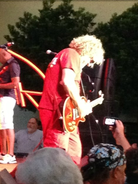 Sammy Hagar Sining at the Venetian