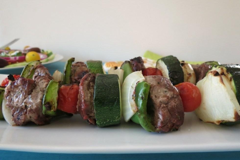 Beef Kabobs with Yogurt Marinade