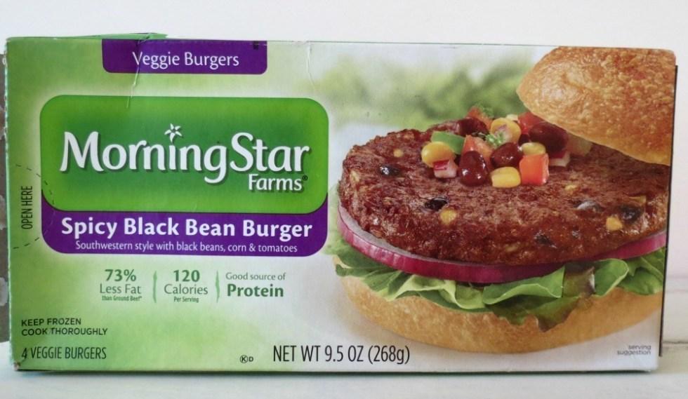 Morning Star Black Bean Burgers