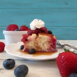 Berrylicious Overnight French Toast ~ Inspired by ABC's The Chew