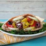 Greek Vegetarian Pita