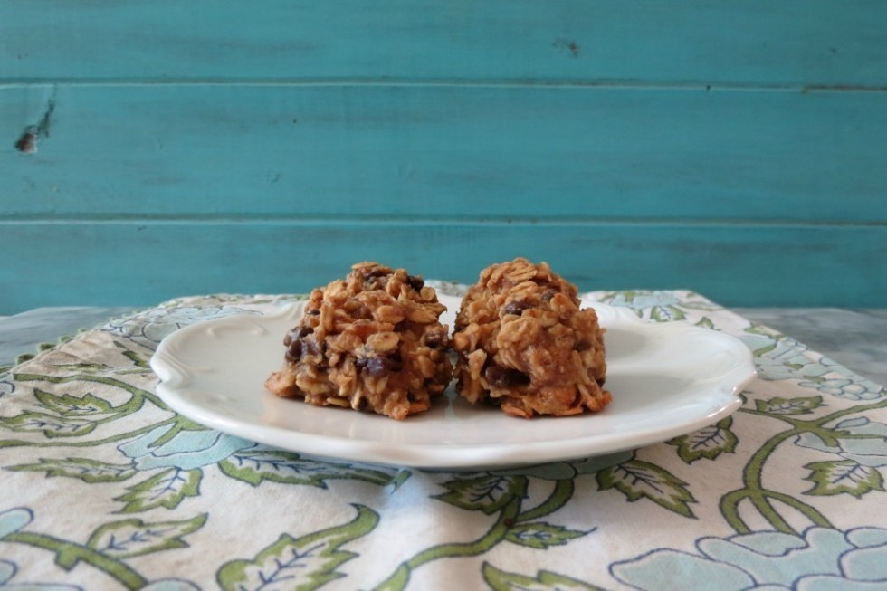 Peanut Butter Chocolate Chip Granola Cookies
