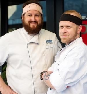 Chef Jay Ducote and Chef Wadsworth