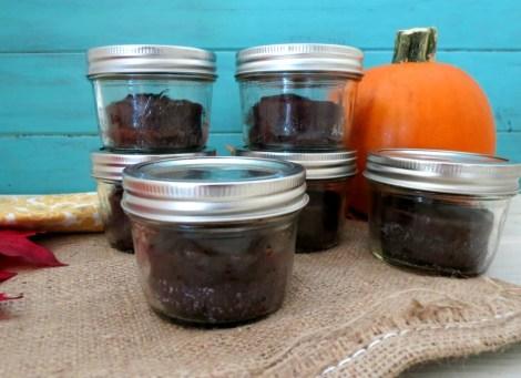 Gluten Free Brownies in a Jar