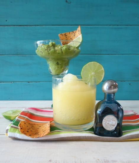 Margarita Lime Guacamole and Skinny Lime Margarita #HolidayDetox