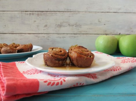 Mini Apple Cinnamon Rolls