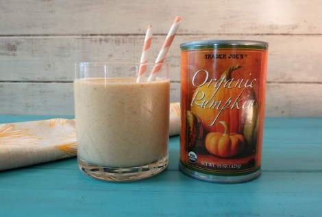Oatmeal Pumpkin Breakfast Smoothie