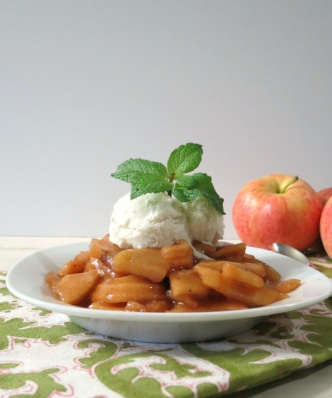 Caramelized Apples in Crockpot