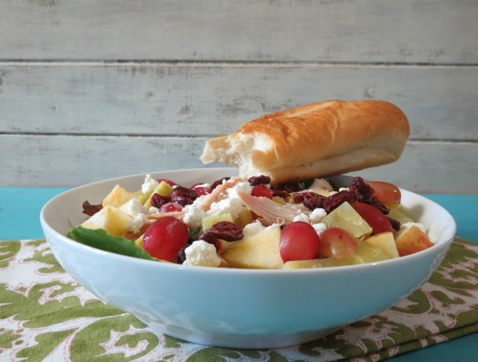 Chicken, Apple and Sweet Potato Salad