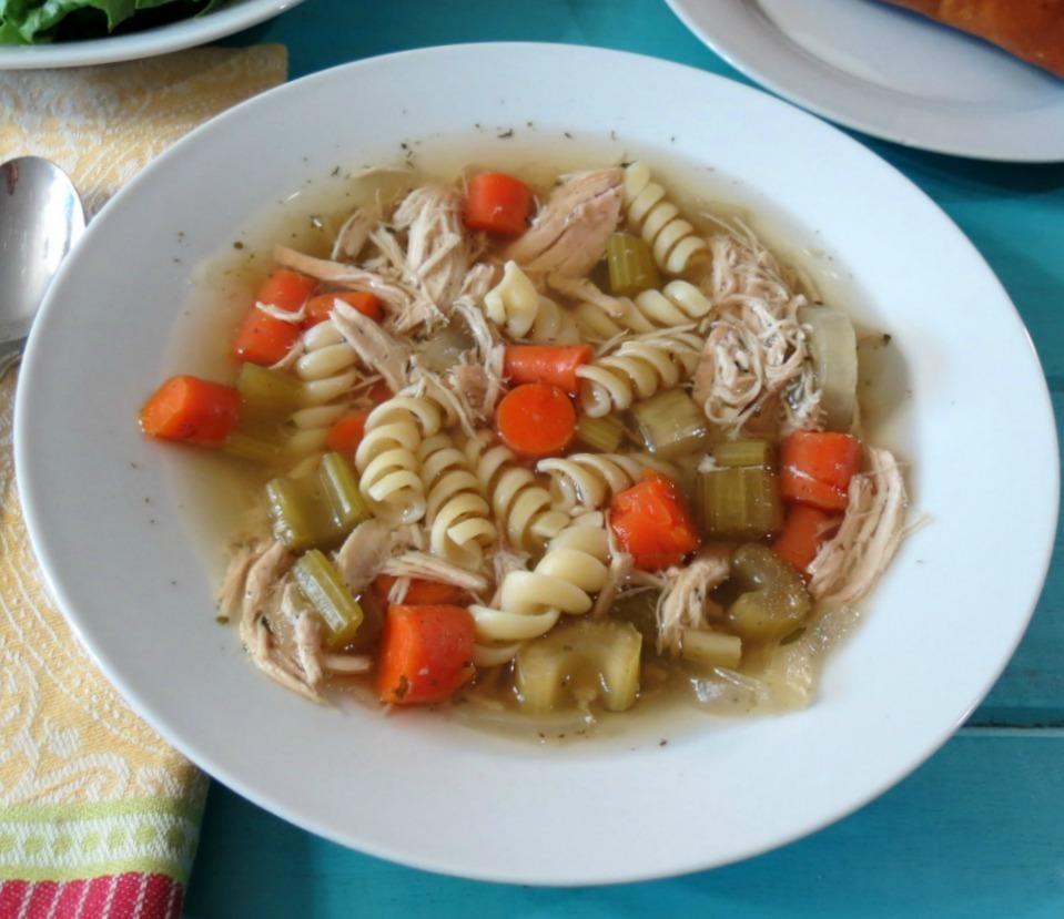 Chicken Noodle Soup - Crockpot
