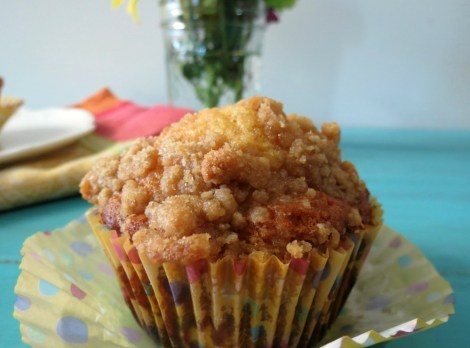 Pear Crumble Muffinsa