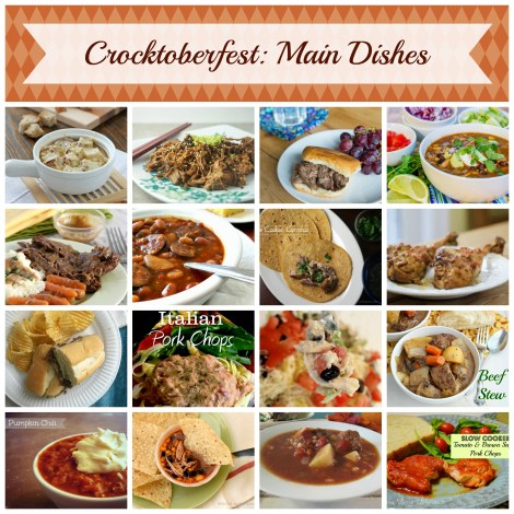Main Dishes Collage