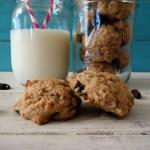 Peanut Butter Oatmeal Raisin Cookies #peanutbutterlove