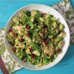 Brussels Sprouts with fresh Cranberries