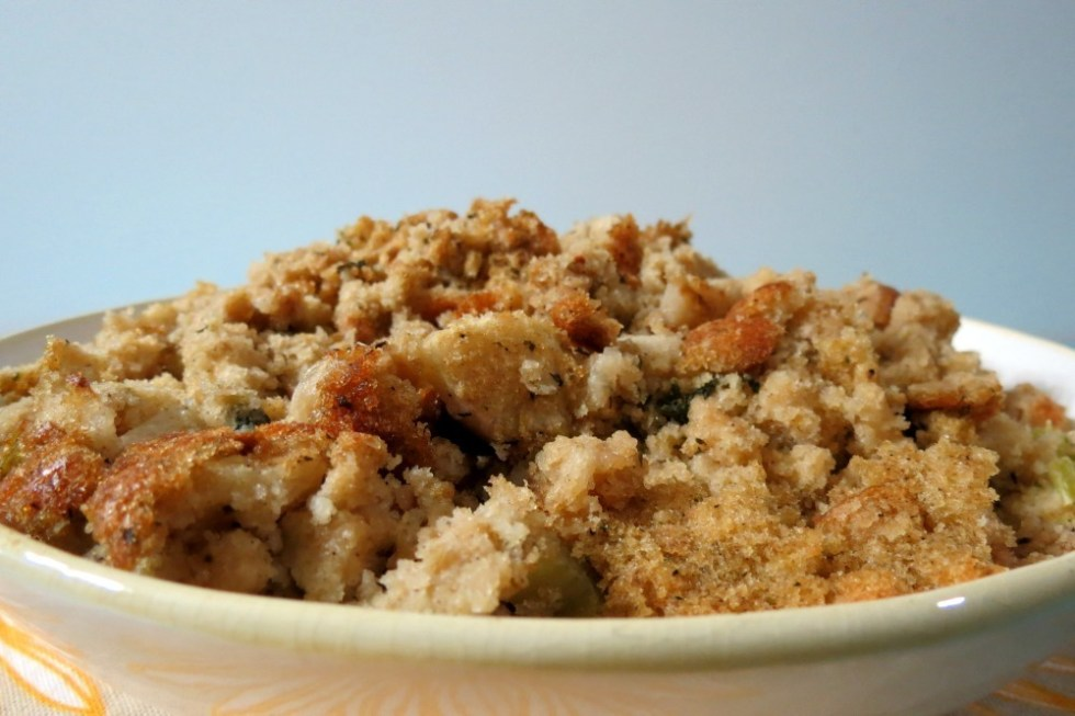 Cornbread Apple and Sage Stuffing
