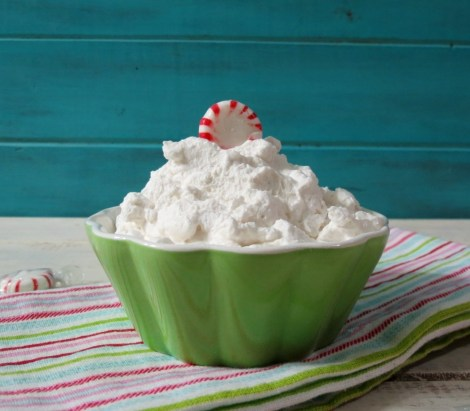 Peppermint Whip Cream