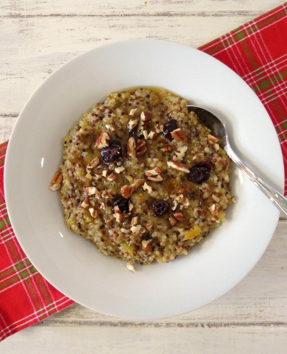 Winter Harvest Quinoa Oatmeal
