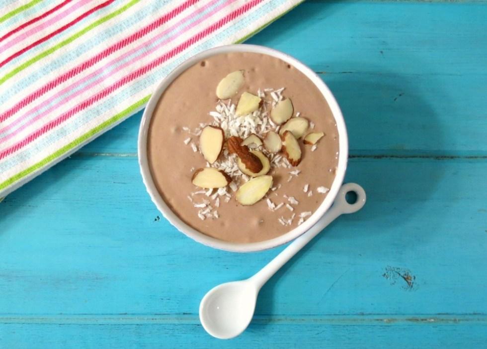 Almond Joy Breakfast Smoothie Bowl