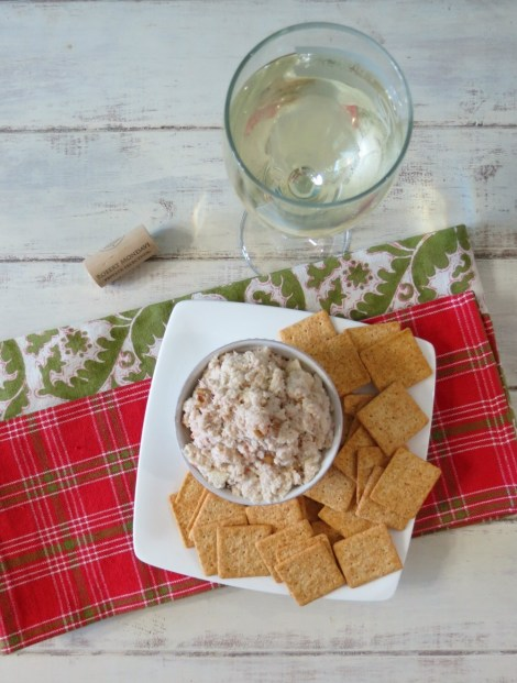 Apple & Walnut Crab Dip #HolidayEntertianing