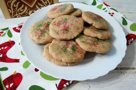 Spiced Brown Sugar Cookies