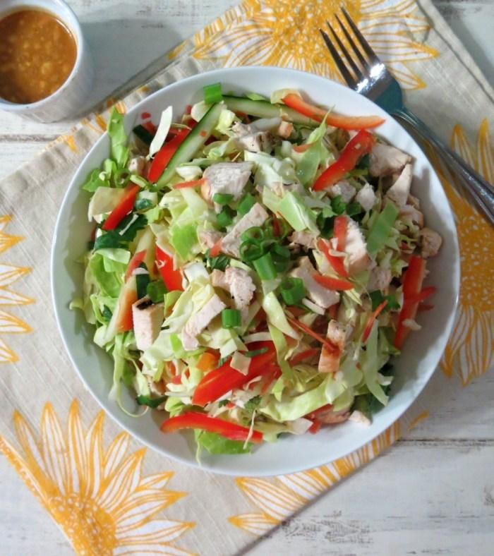 Spicy Thai Chicken Salad
